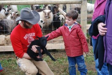 Jacob and lamb